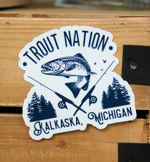 Kalkaska Trout Nation Sticker