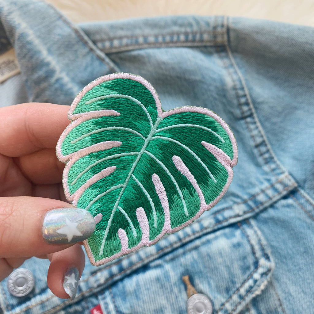 Wildflower + Co. - Waves Collection - Monstera Leaf Patch
