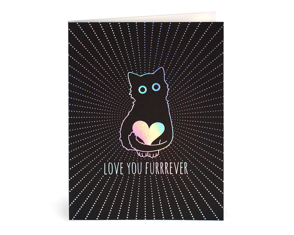 Compoco - Love You Furrrever Greeting Card