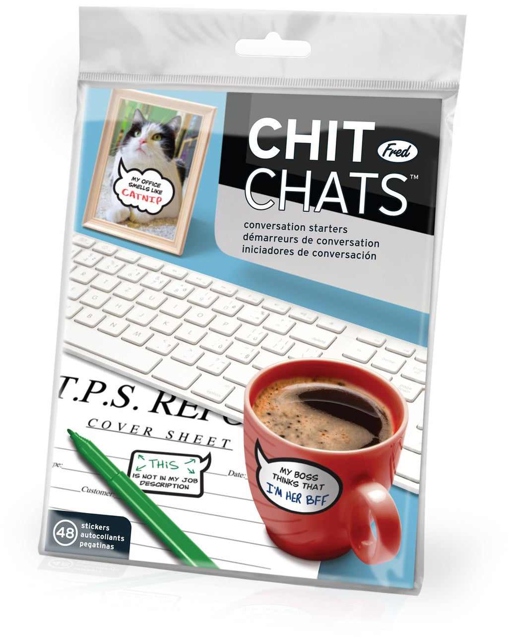 Chit Chats Office Conversation Stickers