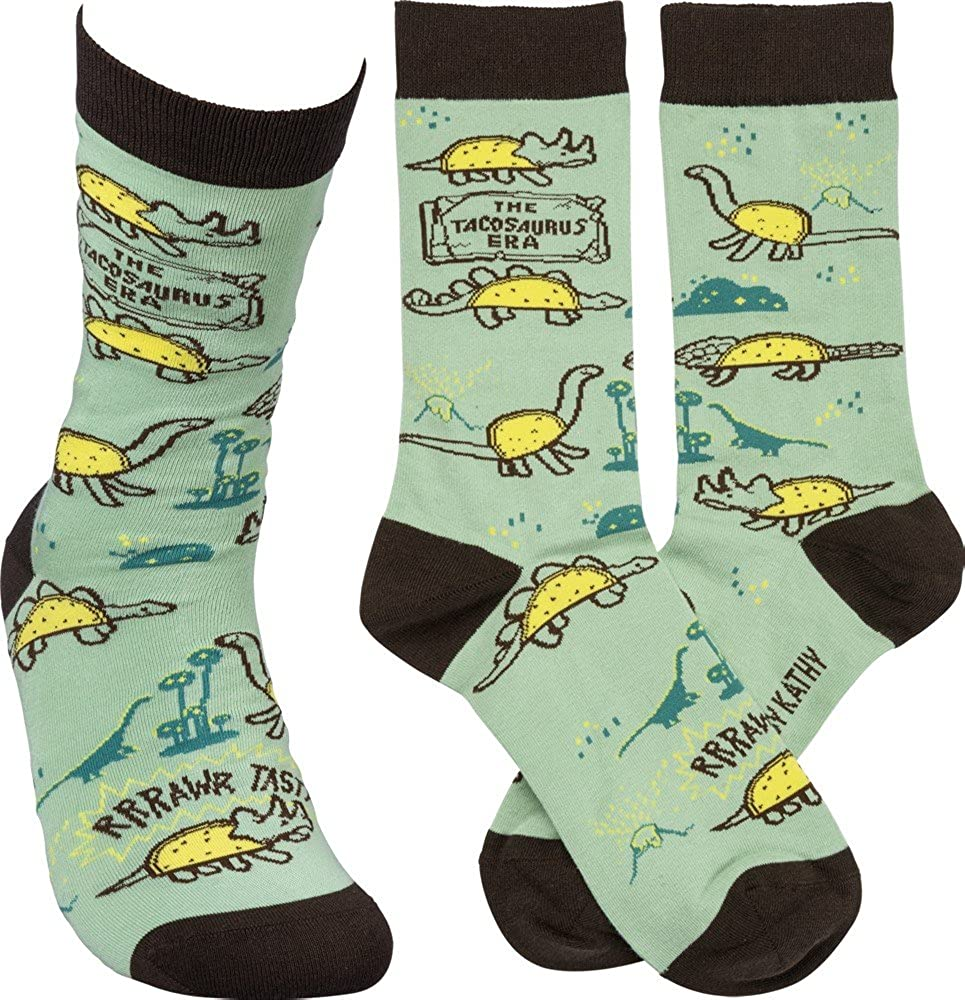 The Tacosaurus Era Socks