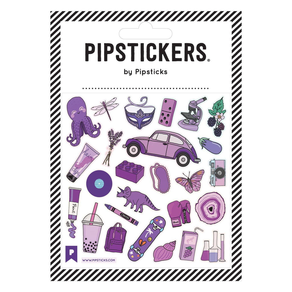 Pipsticks - Perfectly PURPLE Stickers