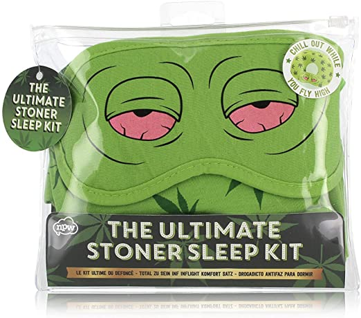 Dope Stuff Stoner Sleep Kit with Mask & Earplugs
