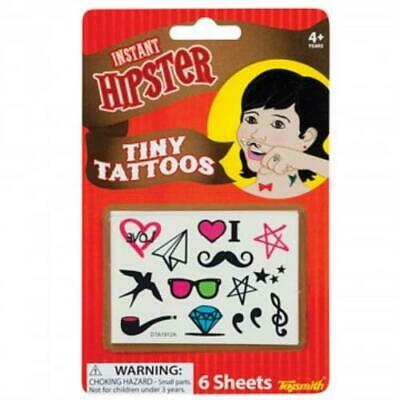 Instant Hipster Tiny Tattoos