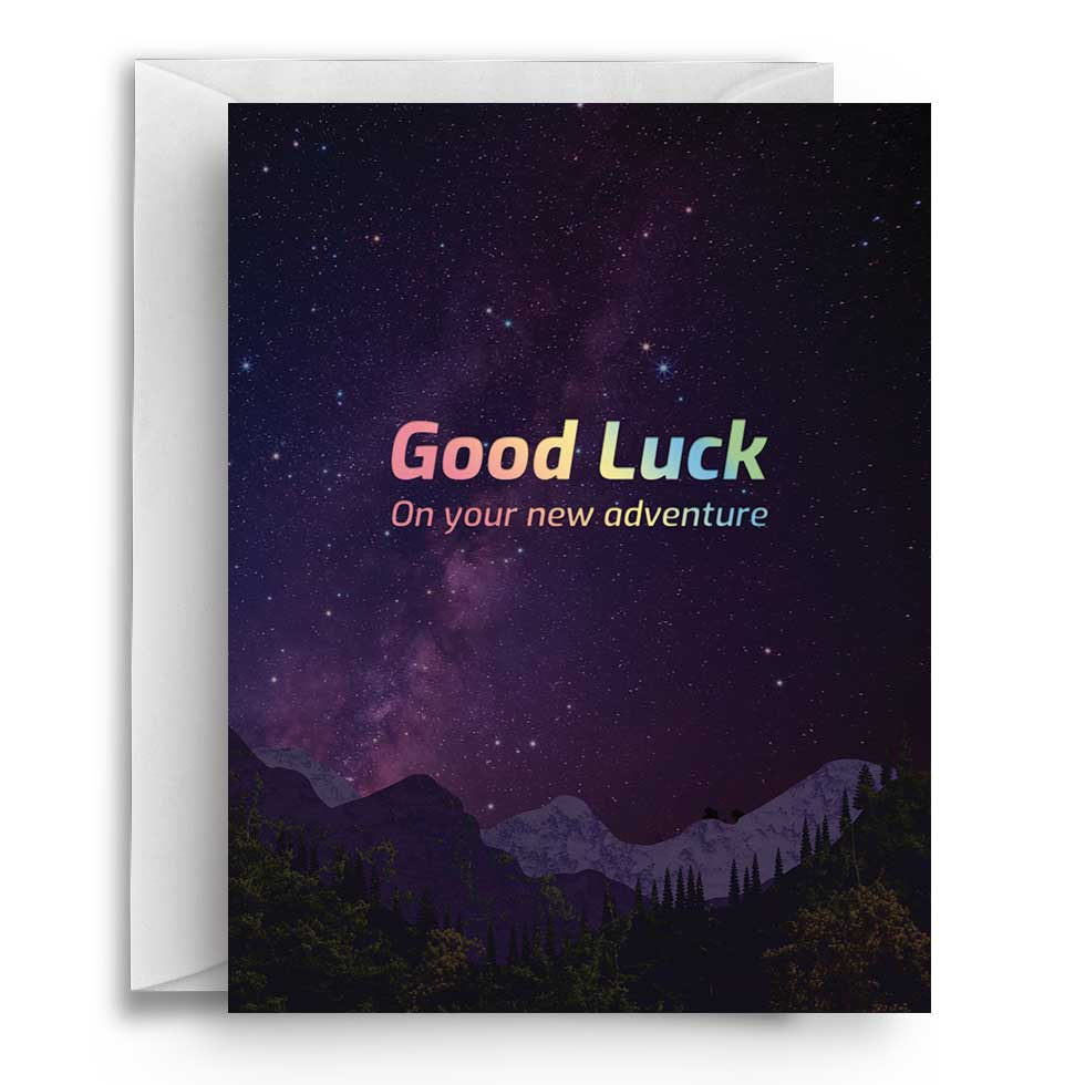 Compoco - Good Luck Adventure Greeting Card