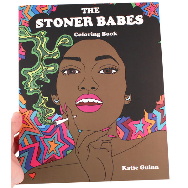 Microcosm Publishing - Stoner Babes Coloring Book