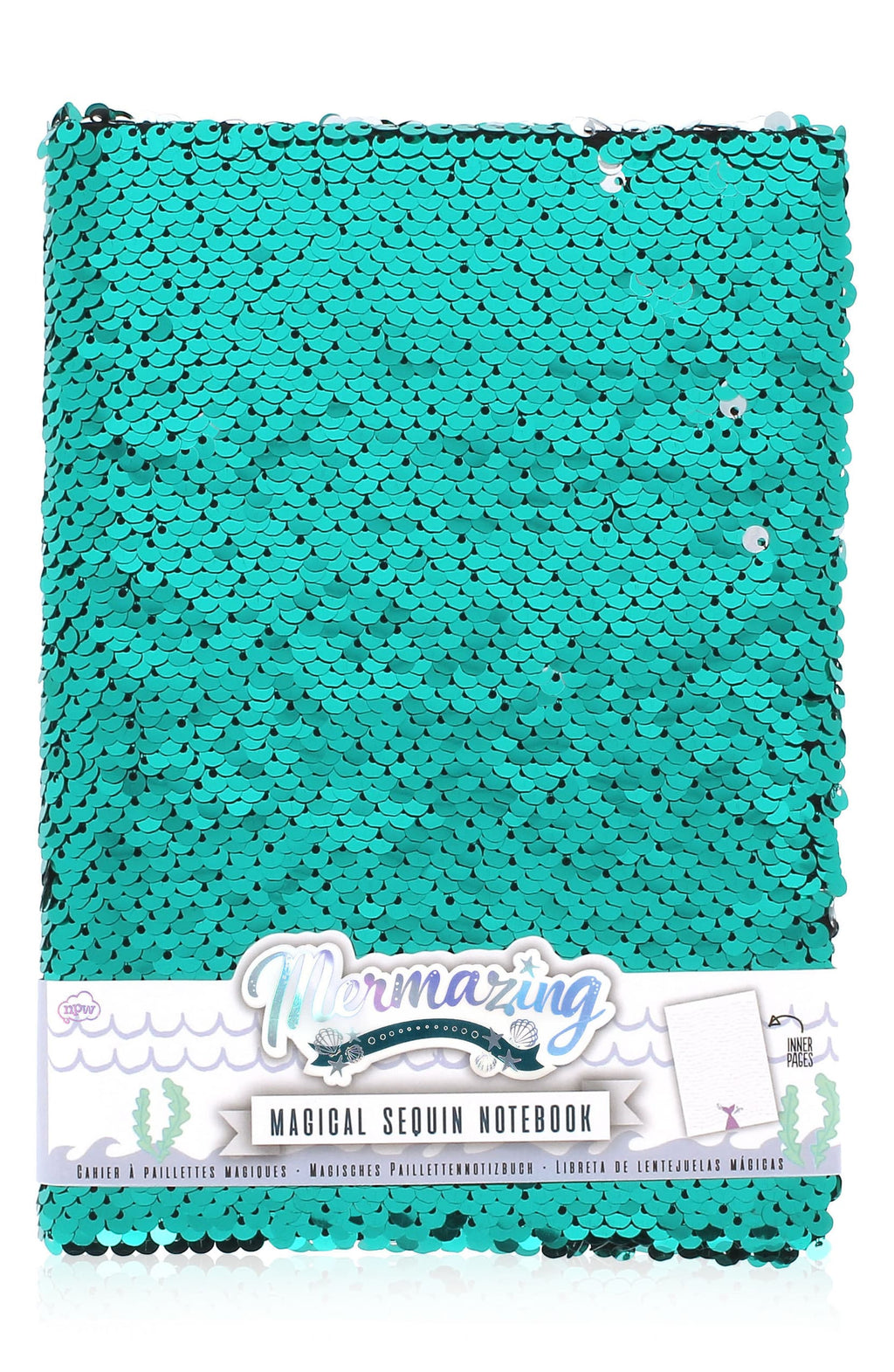 Mermazing Magical Sequin Notebook