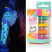 Neon Bright's Body Paint Stack, 4 Count