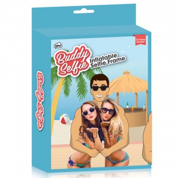 Drinking Buddies Inflatable Buddy Selfie Frame