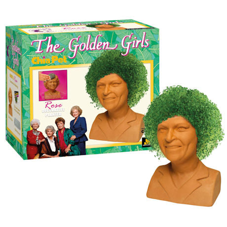 Golden Girls Chia Pet: Rose