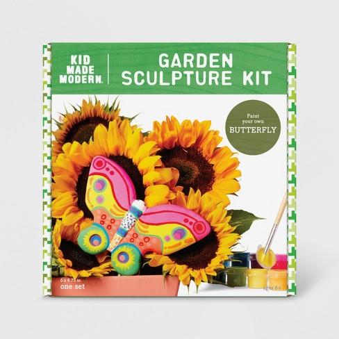 Butterfly Garden Sculpture Kit - Kid Made Modern