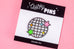 Quirky Pins: Glitter Disco Ball Enamel Pin