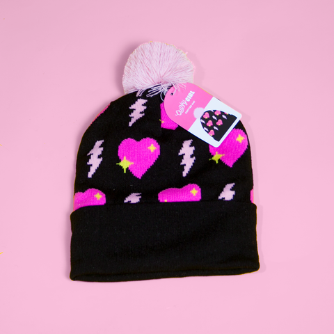 Quirky Girl Ski Hat