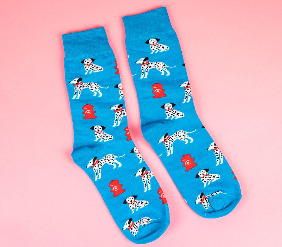Dalmation Quirky Socks