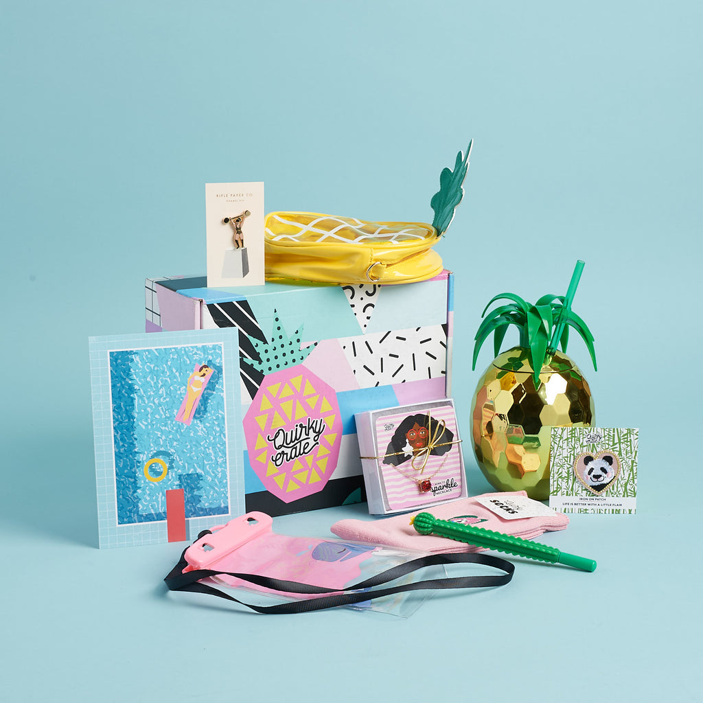 July 2018 Crate: Featuring Rifle Paper Co.