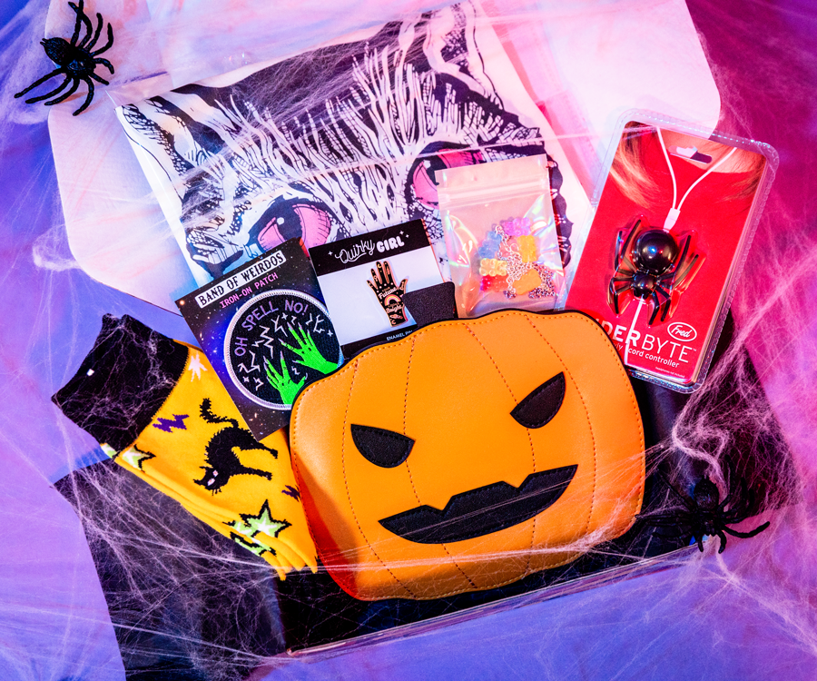 October 2019 Halloween Box: <br> Featuring Band Of Weirdos