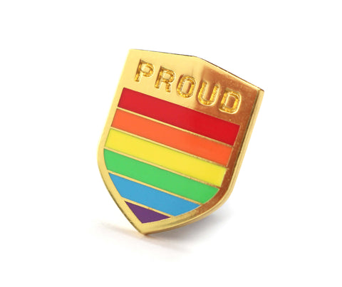 Compoco - LGBT Badge Enamel Pin