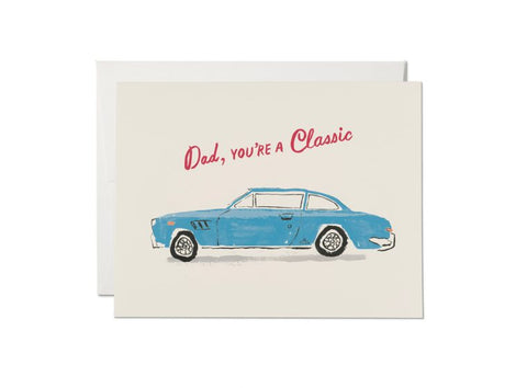 Red Cap Cards - Classic Dad