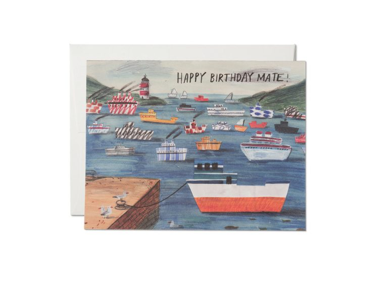 Red Cap Cards - Birthday Mate