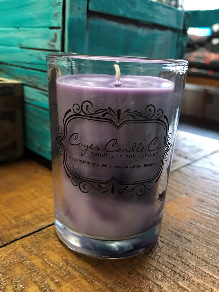 Coyer Candle Co. - Raspberry Coconut Sorbet - 8 oz. Boutique Candle
