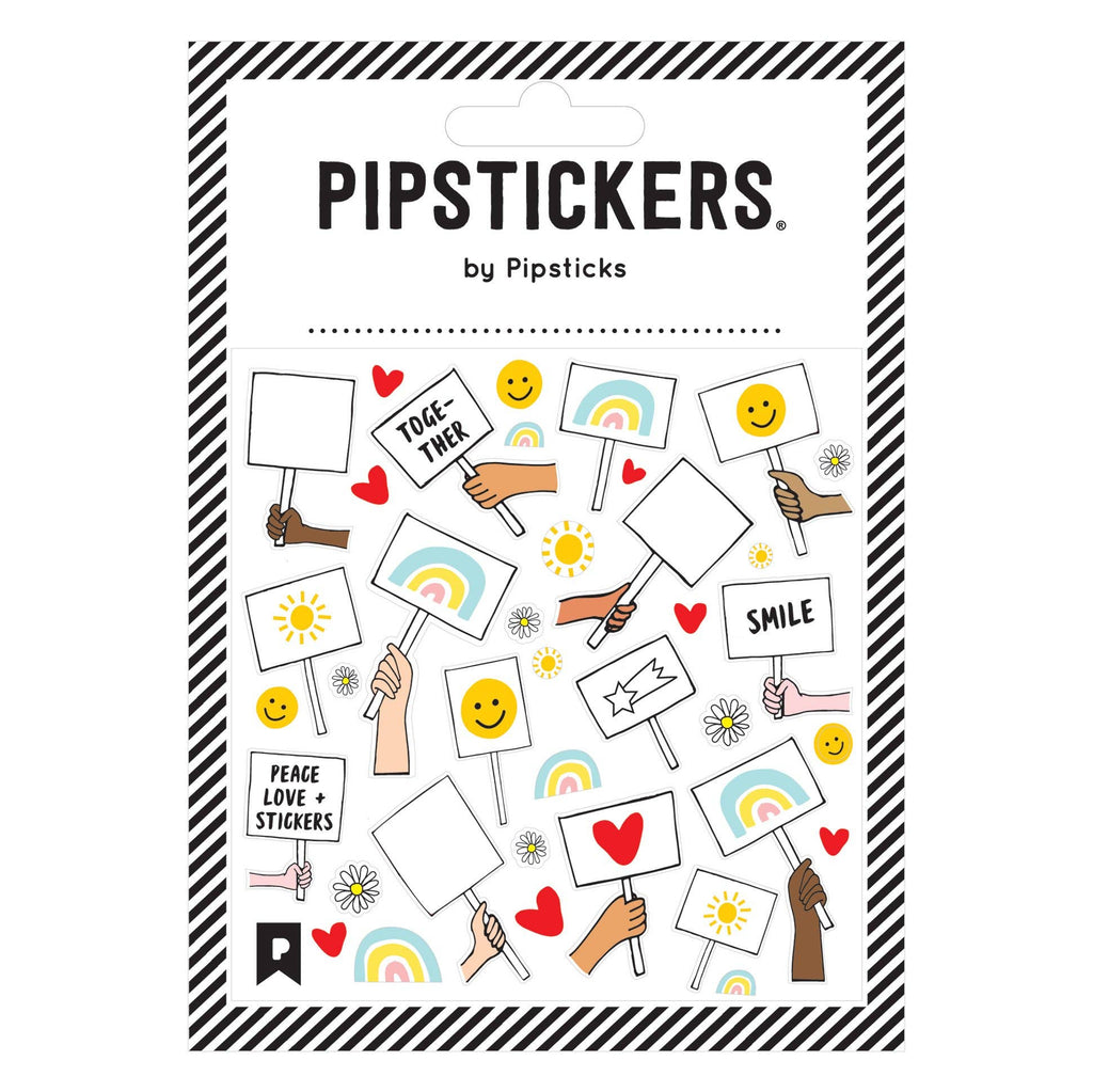 Pipsticks Stickers- Color-in Your Sign