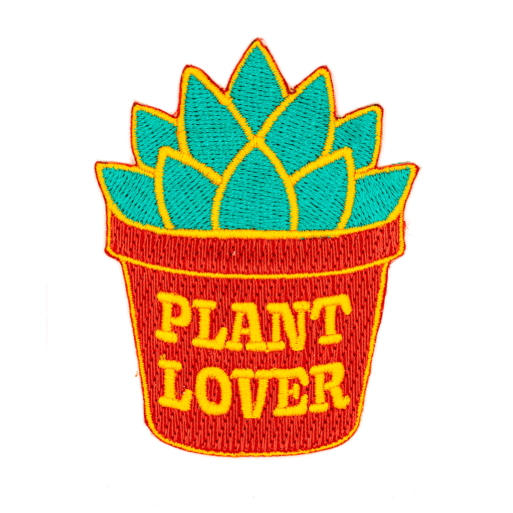 These Are Things - Plant Lover Embroidered Patch