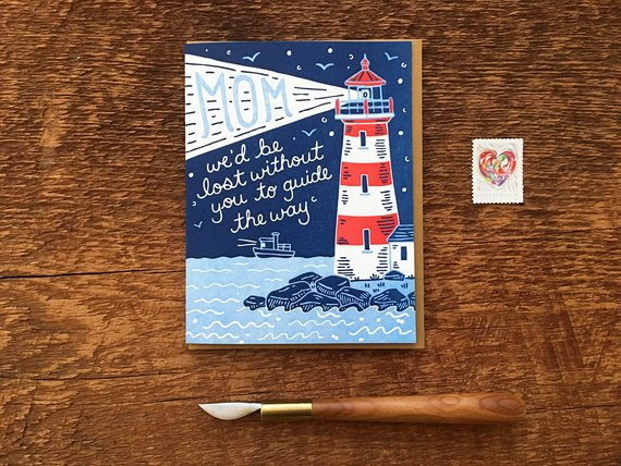 Noteworthy Paper & Press - Mom Lighthouse