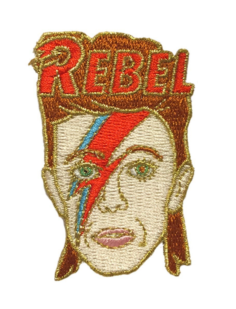 The Found - David Bowie Rebel Patch
