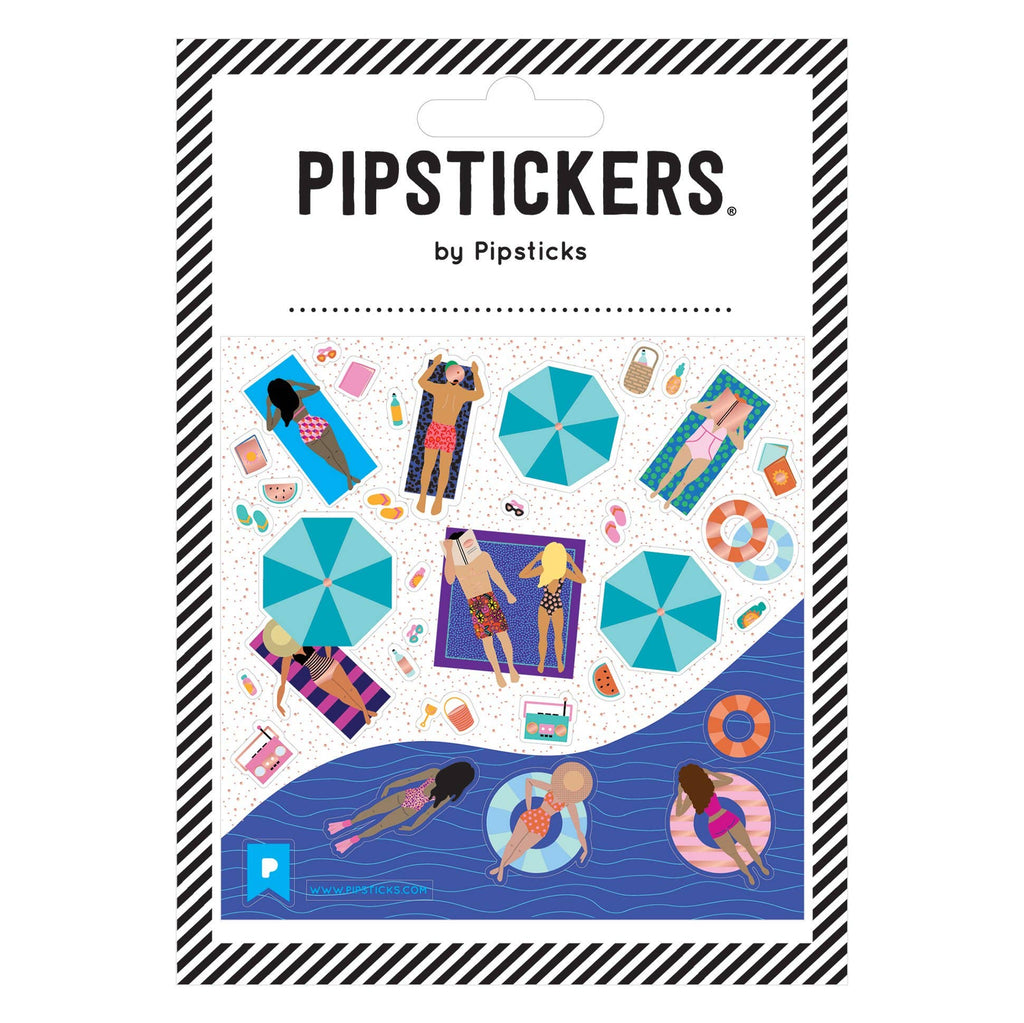 Pipsticks - Poolside Paradise Stickers