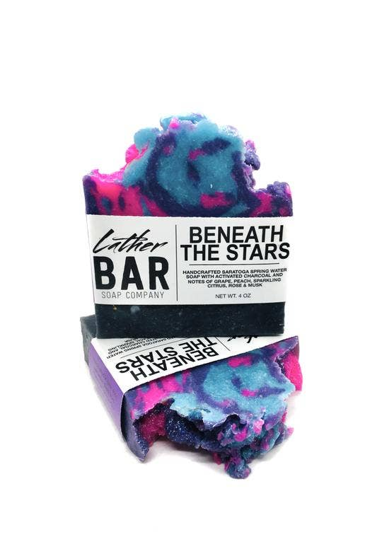Lather Bar Soap Company - Beneath the Stars Soap
