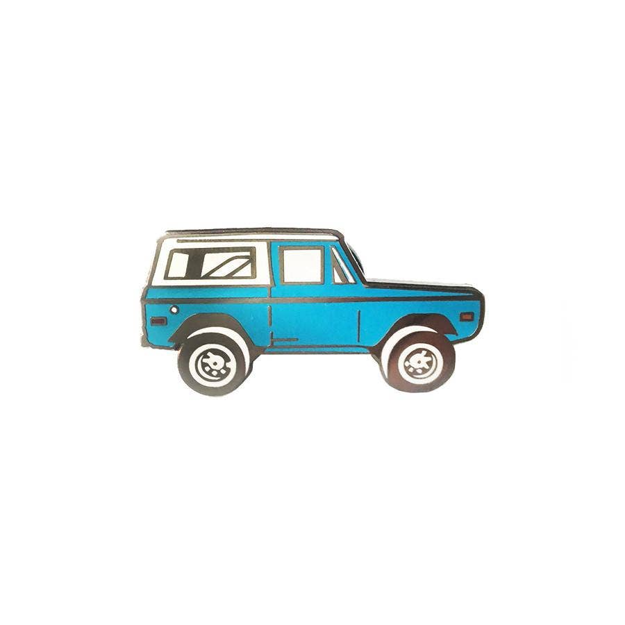Three Potato Four - Enamel Pin - Bronco