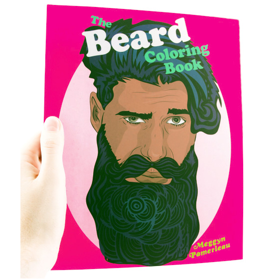 Microcosm Publishing - The Beard Coloring Book