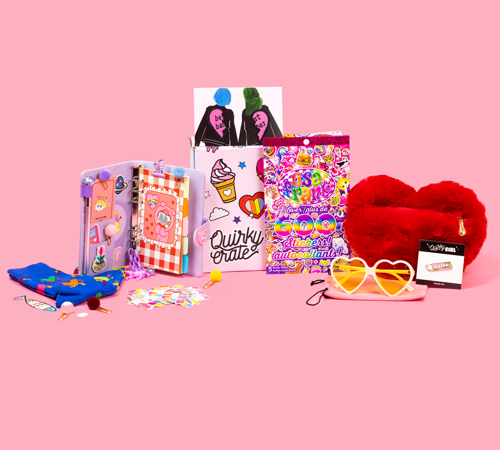 January 2020 Crate: Featuring Lisa Frank