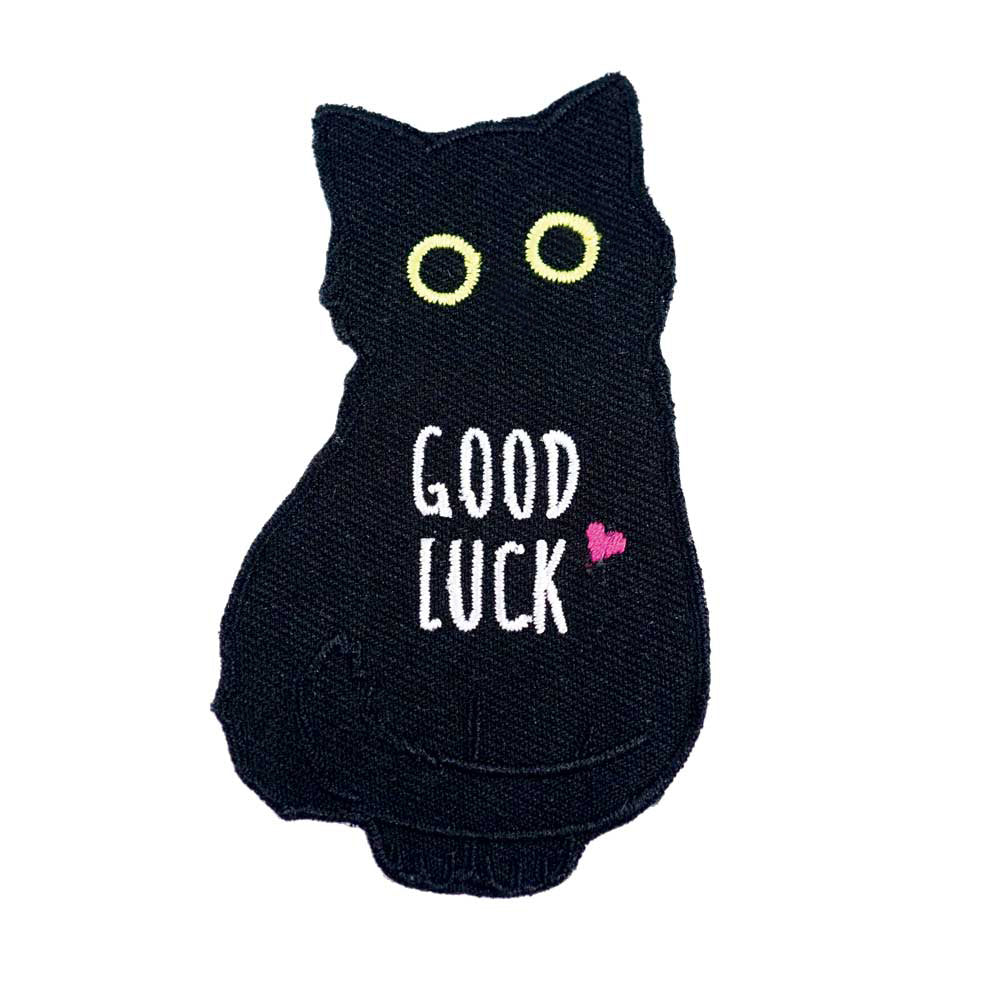 Good Luck Black Cat Patch