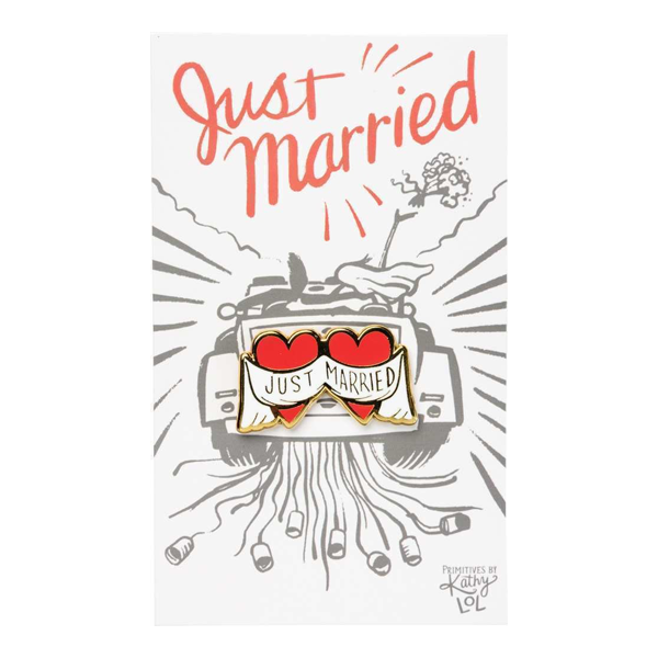 Enamel Pin - Just Married