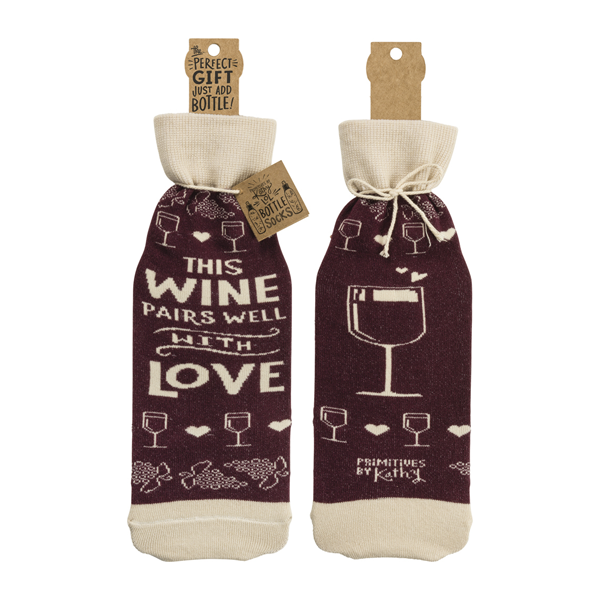 Bottle Sock - This Wine Pairs