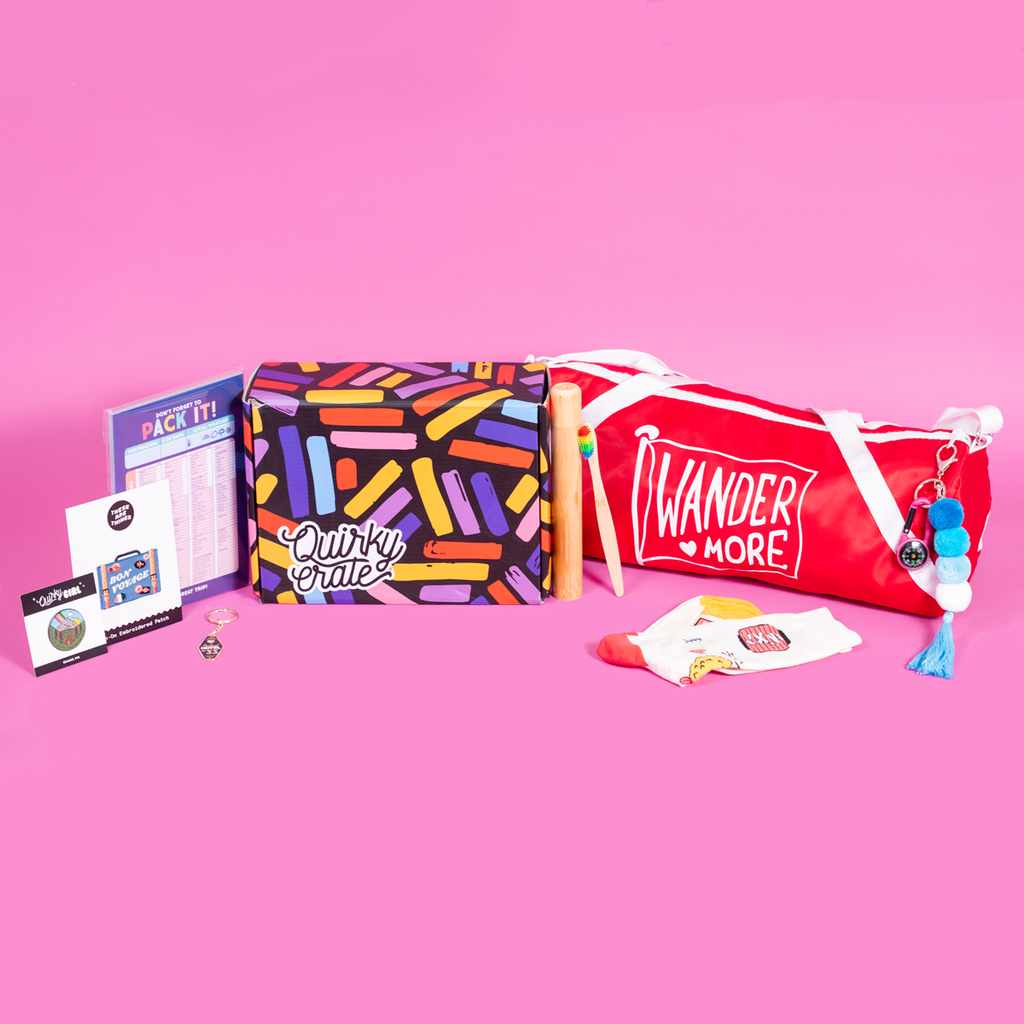 May 2019 Wanderlust Crate: <br> Featuring These are Things