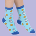 Kawaii Milk and Cookies Quirky Socks