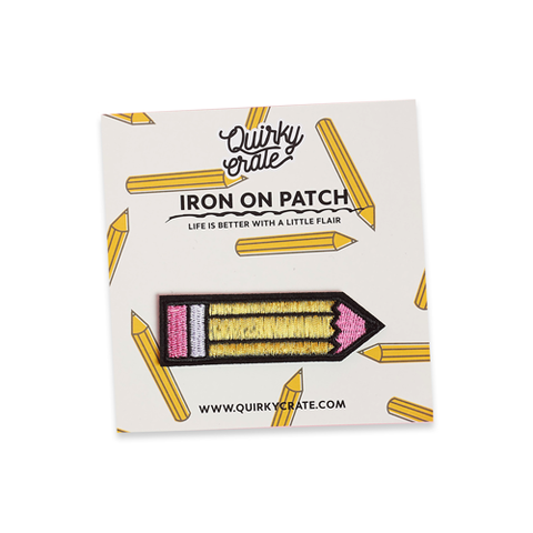 Iron On Pencil Patch