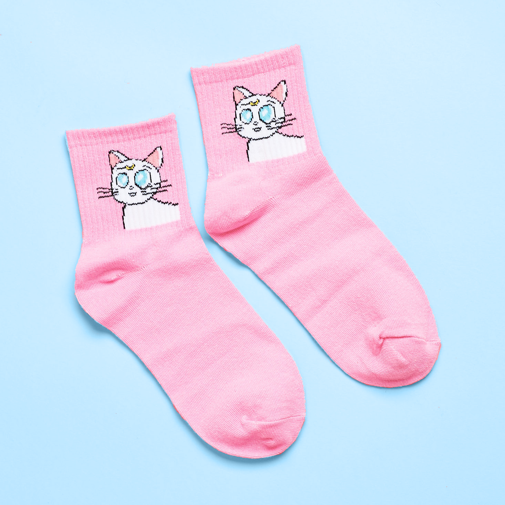 Sailor Moon Artemis Quirky Socks