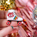 "Roller Skate ""Roll with It""  Enamel Pin"