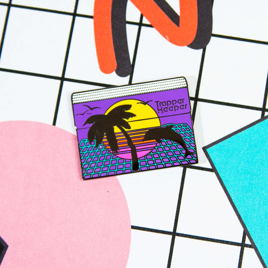Trapper Keeper Enamel Pin