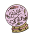 Basic Witch Crystal Ball  Enamel Pin