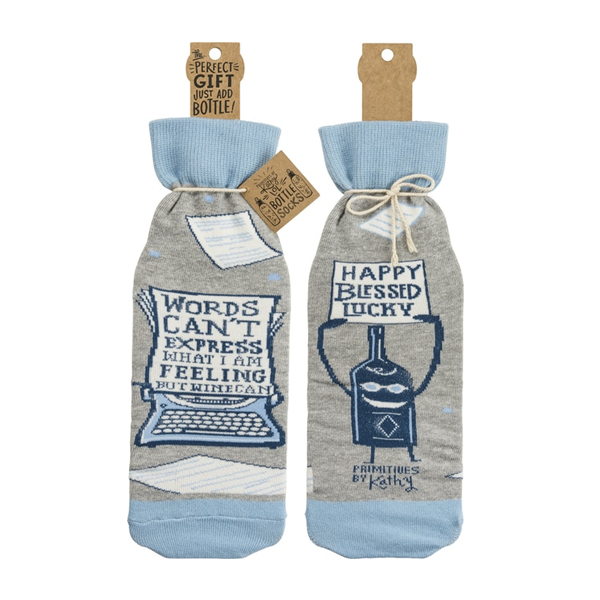 Bottle Sock - Words Can't Express