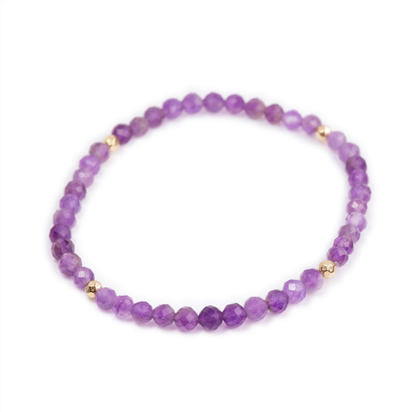 Amethyst Power Crystal Bracelet - Tranquility