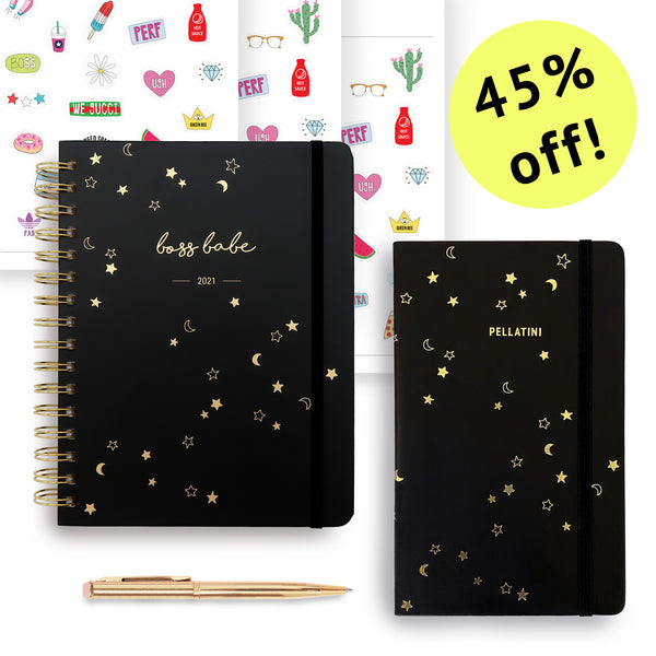 Black Friday | Boss Babe 2021 Planner Set