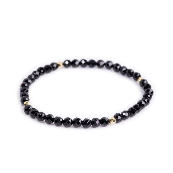 Black Onyx Power Crystal Bracelet - Protection