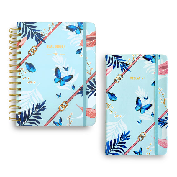Bundle | Goal Digger 12 Month Planner 2021 + Notebook