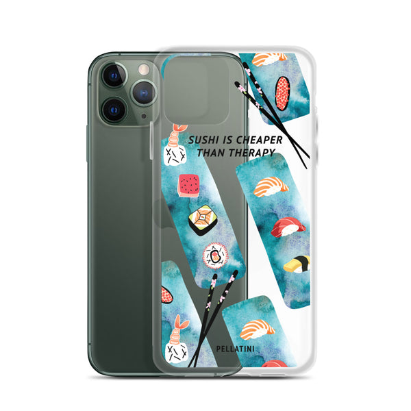 Sushi Therapy - iPhone Case