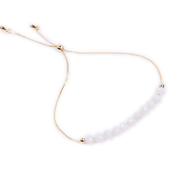 Moonstone Power Crystal Bracelet - Balance | Adjustable Chain